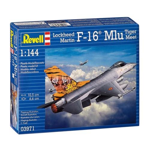 Image of   Revell Byggesæt F-16 Tiger fighter jet