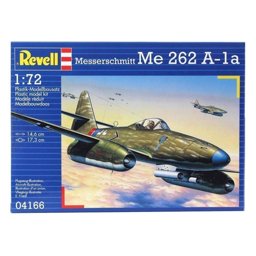 Image of   Revell Byggesæt Me 262 A-la