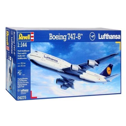 Image of   Revell Byggesæt Boeing 747-8 Lufthansa