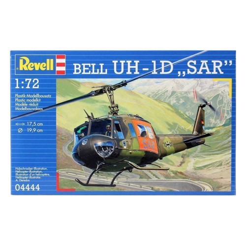 Image of Revell Byggesæt Bell UH-1 d SAR (4009803044446)