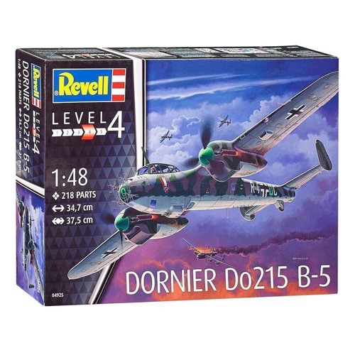Image of Revell Byggesæt Dornier Do215 B-5 Nightfighter (4009803049250)