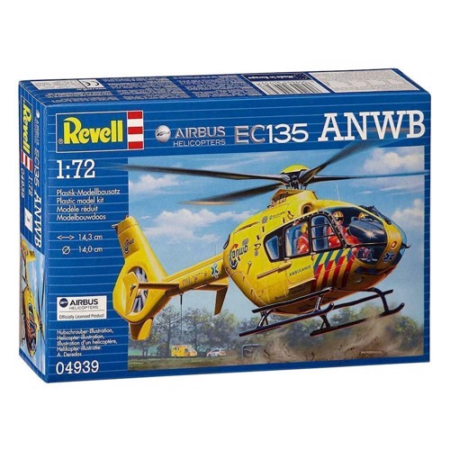Image of   Revell Byggesæt Airbus Helicopter EC135 ANWB