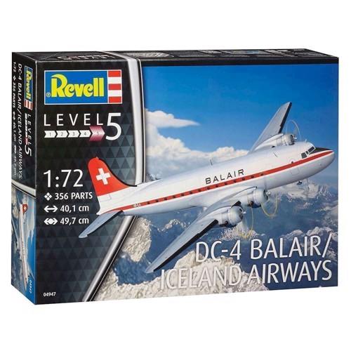 Image of   Revell Byggesæt DC 4 Balair