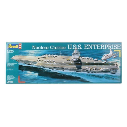 Image of Revell Byggesæt U.S.S. Enterprise (4009803050461)