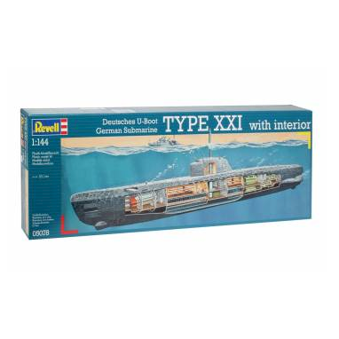 Image of Revell Byggesæt you 2540 Type XXI submarine