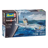 Revell Byggesæt German Submarine Type XXIII