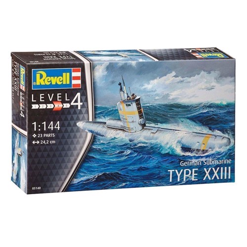 Image of   Revell Byggesæt German Submarine Type XXIII