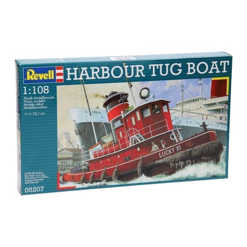Image of   Revell Byggesæt Harbour Tug Boat