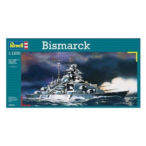 Image of   Revell Byggesæt Bismarck