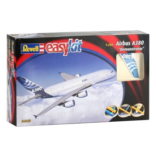 Image of   Revell Byggesæt Easykit Airbus A380