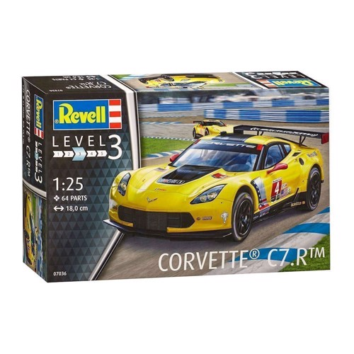 Image of Revell Byggesæt Corvette C7.R (4009803070360)