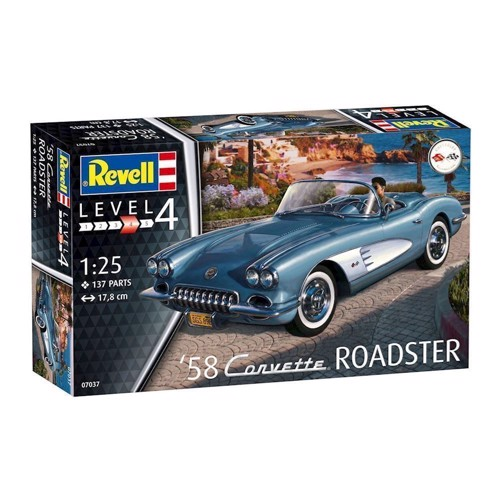 Image of Revell byggesæt, Corvette Roadster (4009803070377)