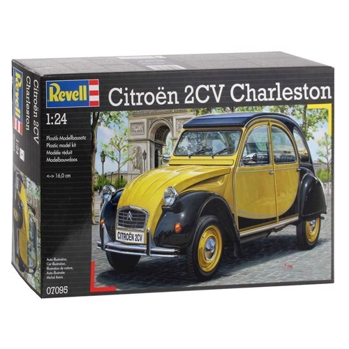 Image of Revell Byggesæt Citroen 2CV Charleston (4009803070957)