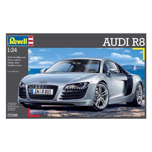Image of Revell Byggesæt Audi R8 (4009803073989)