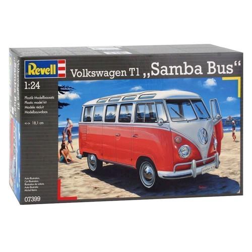 Revell Byggesæt Volkswagen T1 Samba Bus