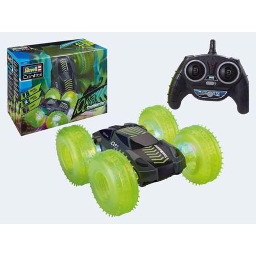 Image of Fjernstyret Flip Stunt Monster bil, uden batterier