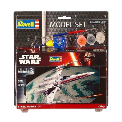 Image of   Revell Byggesæt Star Wars - X-Wing Fighter