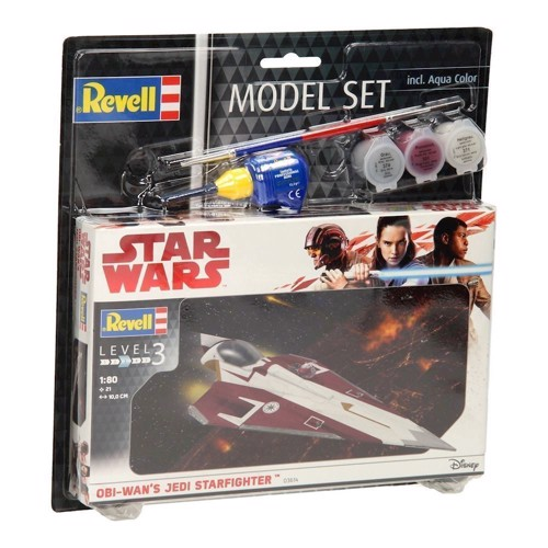 Image of   Revell Byggesæt, Star Wars Obi Wans Jedi Starfighter