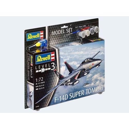 Image of Revell Byggesæt F-14D Super Tomcat (4009803639604)