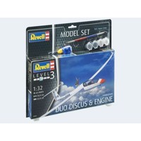 Model Set Glider Duo Discus & Motor 1:32