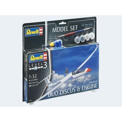 Image of Model Set Glider Duo Discus & Motor 1:32 (4009803639611)