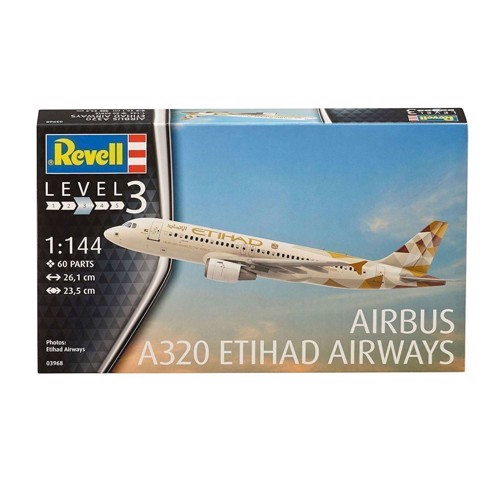 Image of   Revell Byggesæt -Etihad Airbus A320