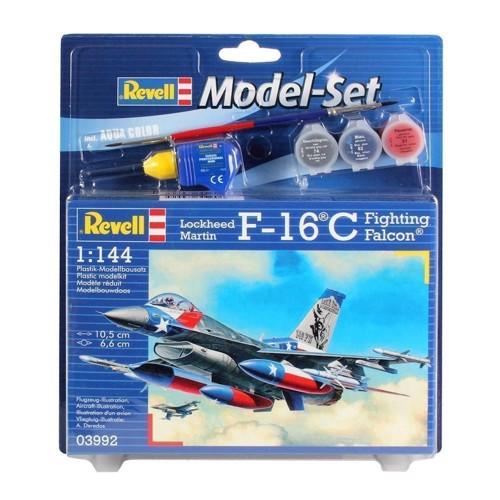 Image of   Revell Byggesæt -F-16 c USAF