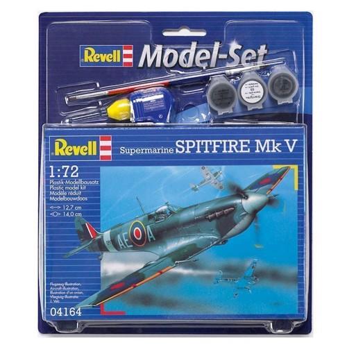 Image of Revell Byggesæt - Spitfire Mk V (4009803641645)