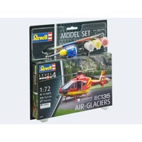 Model Set Helicopter EC-135 Air Glaciers 1:72