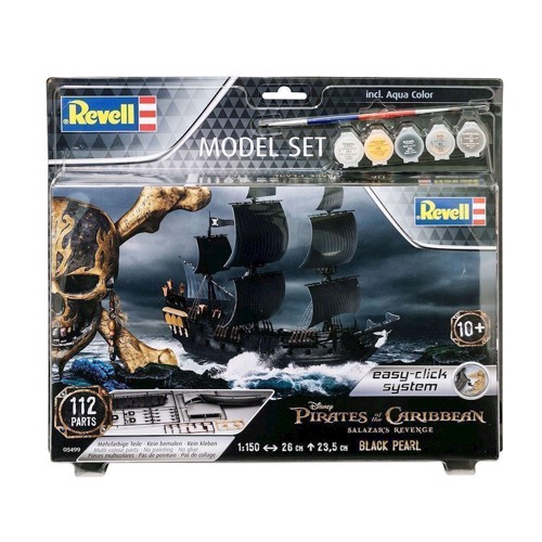 Image of Revell byggesæt The Black Pearl - Pirates Of The Caribbean 1:150