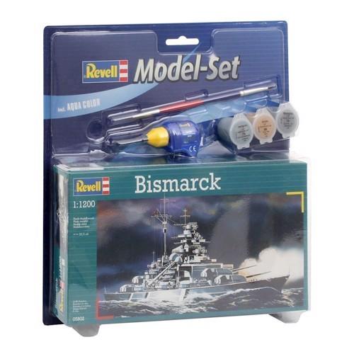 Image of   Revell Byggesæt -Bismarck