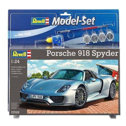 Image of   Revell Byggesæt Model Kit-Porsche 918 Spyder
