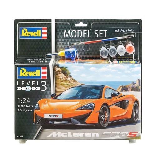 Image of   Revell Byggesæt - McLaren 570S