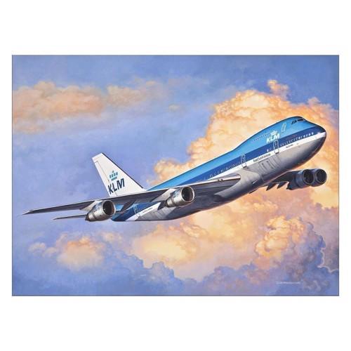 Image of   Revell Byggesæt Boeing 747-200 jumbo jet