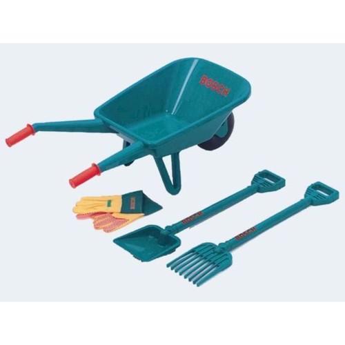 Image of Bosch legetøj - trillebøre med tilbehør (4009847027528)