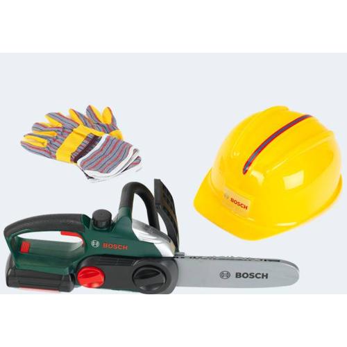 Image of   BOSCH Motorsav 30cm, med hjelm & handsker