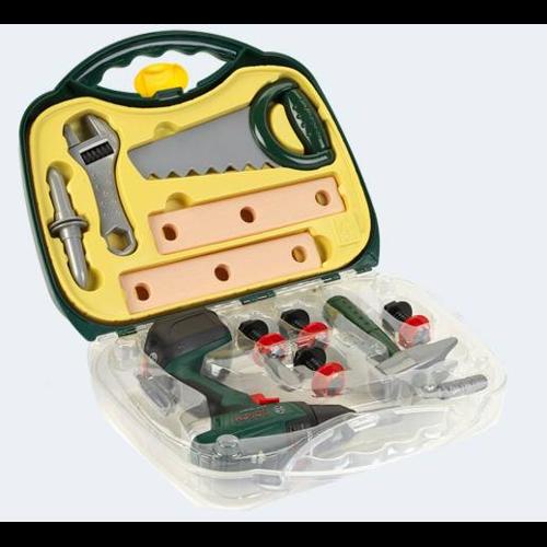 Image of   BOSCH Kuffert med skruemaskine & værktøj