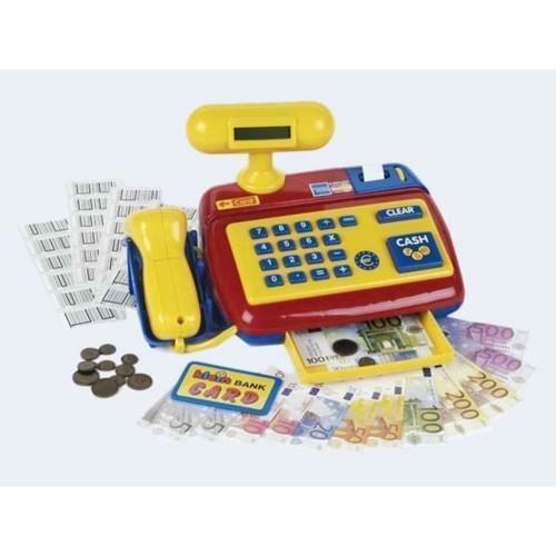 Image of   Klein legetøjs Kasseapparat med scanner - elektrisk
