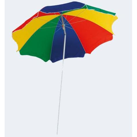 Image of   Farverig solskærm med knæk 180cm