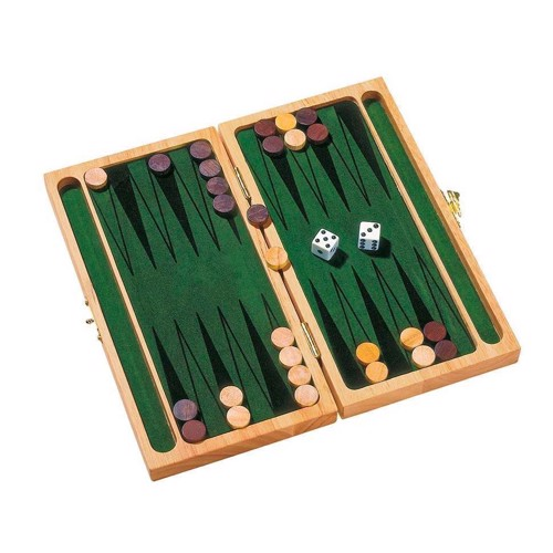 Image of Backgammon i træ