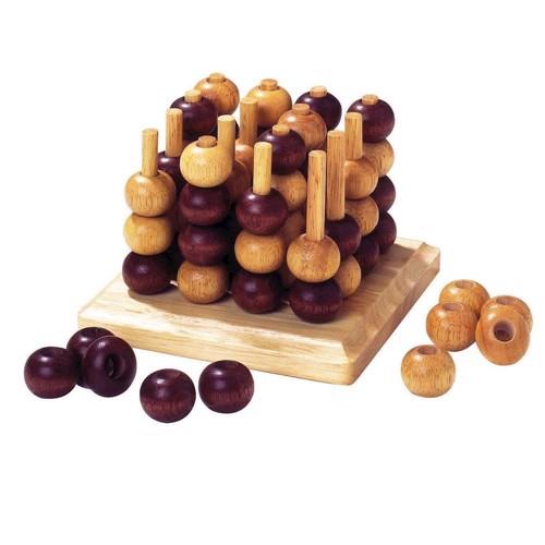 Image of 3D kryds og bolle, i træ (4013594090582)