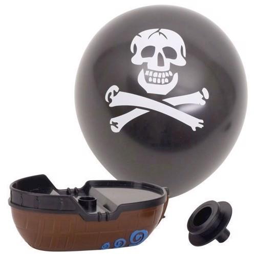 Ballonbåd, pirat
