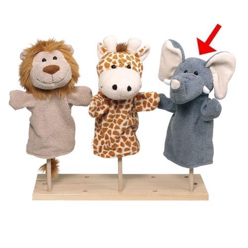 Image of   Dukketeater, Hånd dukke løve