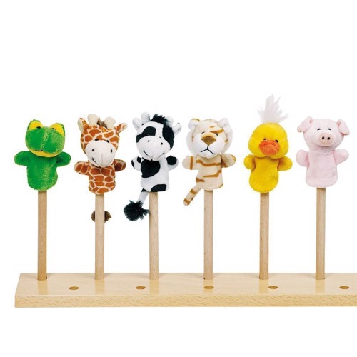 Fingerpuppet Set Animals