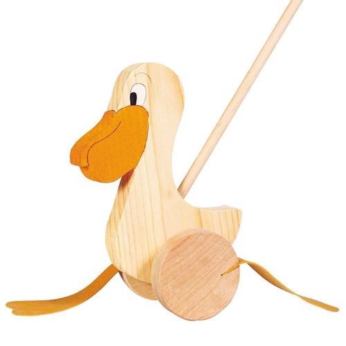 Skubbedyr, pelikan i træ