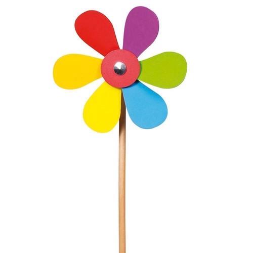 Image of Vindmølle, blomst i træ (4013594404310)