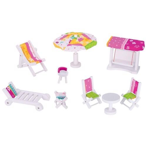 Susibelle have møbler til dukkehus