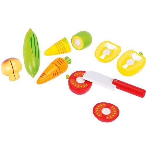 Legemad grøntsager, 12 dele