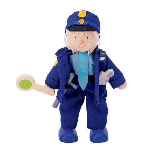 Image of   Dukkehus, Dukke, politi