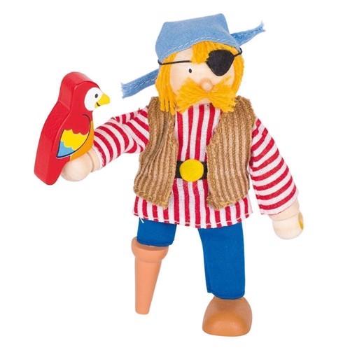 Image of   Dukkehus dukke, pirat